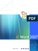 MicrosoftWord 2007 Training Manual