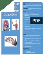 Atención básica en convulsiones, Acv y Alteraciones Circulatorias