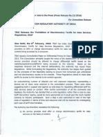 Press Release No 13