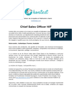 Chief Sales Officer (H/F)