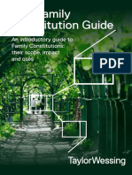 Family Constitution Guide