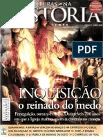 Revista Aventuras Na Historia - InQUISICAO o Reinado Do Medo - Abril de 2008 Ed 57