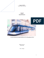 Le Projet Du Metro Do Porto -Un Réseau Structurant de Transports Publics Pour l'Aire Métropolitaine de Porto