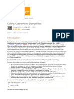 Calling Conventions Demystified...........CodeProject