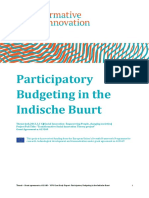 Participatory Budgeting in the Indische Buurt