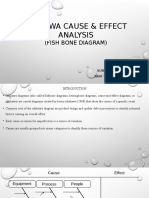 ISHIKAWA Cause & Effect Analysis