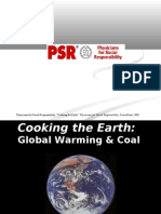 Cooking the Earth PPt, FINAL, July 2009