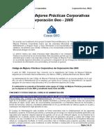 Código de Mejores Prácticas Corporativas 2006
