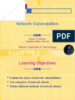 Chapter 4 - Network Vulnerabilities