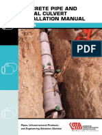 Concrete Pipe and Portal Culvert Installation Manual1