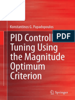 Pid Tunning Using Magnitude Optimum