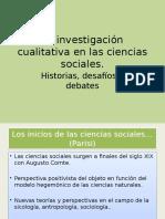La Investigación Cualitativa en Las Ciencias Sociales