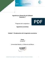 Unidad 1. Fundamentos de Ingenieria Economica_DINE