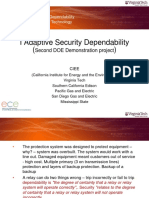 Adaptive Security Dependability