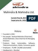 Mahindra & Mahindra Ltd