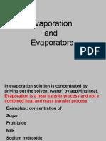Evaporation - 1