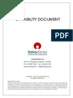 Innodeas Capability Document