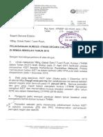 Surat Pelaksanaan Kursus I-Think KPM