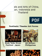 Festivals and Arts of China, Japan,