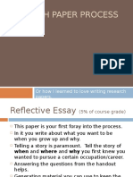 How to - Research Paper I