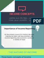 Income Concepts