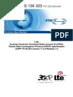 3gpp Ts 36 323 (Lte Pdcp Protocol)
