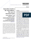 Innovation Trends in the Food Industry_The Case of Functional Foods