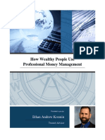 How Wealthy People Use Professional Money Management