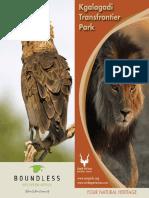 Kgalagadi Online Brochure 2012