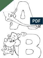 Litere Alfabet Cu Animale