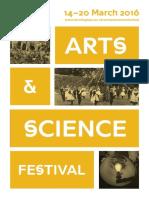 Arts & Science Festival 2016 | e-brochure