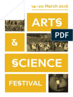 Arts & Science Festival 2016 | e-brochure