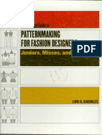 Patternmaking for Fashion Designers