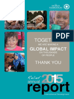 2015 Relief Annual Report