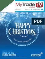 MyTradeTV Glass and Glazing Digital Magazine December 2014