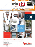 MyTradeTV Glass and Glazing Digital Magazine June 2015