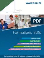 Catalogue Des Formations_2016