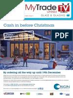 MyTradeTV Glass and Glazing Digital Magazine November 2014