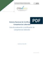 Guia de Evaluación y Certificación de Competencias Laborales