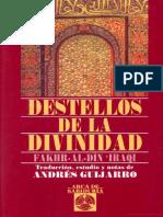 Ibn Arabi - Destellos de La Divinidad