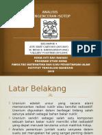 ANALISIS PENGENCERAN ISOTOP Kelompok 4.pptx