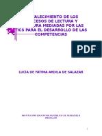 FORTALECIMIENTO DE LOS PROCESOS DE LECTURA Y ESCRITURA MEDI.doc