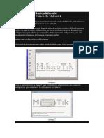 Configuración Básica Mikrotik