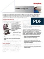 Upgrade From TDC and TPS to Experion Solution Note - December 2006