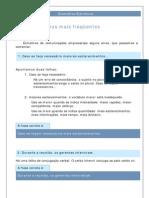 Português - Gramática Eletrônica 01 - Erros Mais Frequêntes