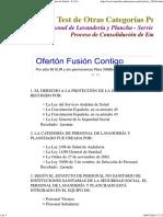 Personal de Lavandería y Plancha - Servicio Andaluz de Salud - S.a.S. - Consolidación 2002