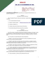 conhecimentos bancários lei 4595 - ver atualizações - Sistema Financeiro Nacional