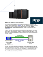How Web Servers Work by nafees
