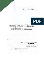 Polimeros naturales y su aplicacion