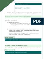 Português - Gramática Eletrônica 01 Erros Mais Frequêntes